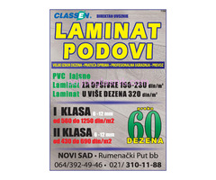 CLASSEN - LAMINAT PODOVI