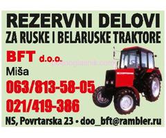 BFT - REZERVNI DELOVI ZA RUSKE I BELARUSKE TRAKTORE