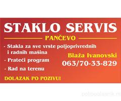STAKLO SERVIS BLAZA IVANOVSKI