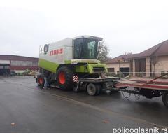 Prevoz svih poljoprivrednih masina do 20t