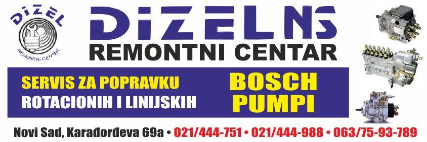 Dizel-NS- servis bosch pumpi